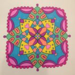 From MiniMENTALs On-the Go Coloring Book colored by Lora Pancoast.