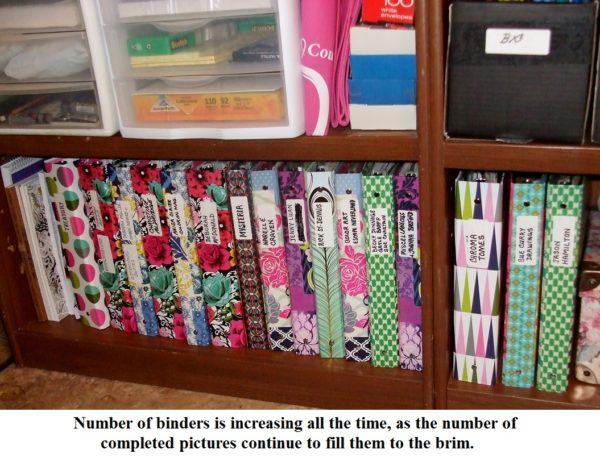 Sue Curry's Coloring Binders