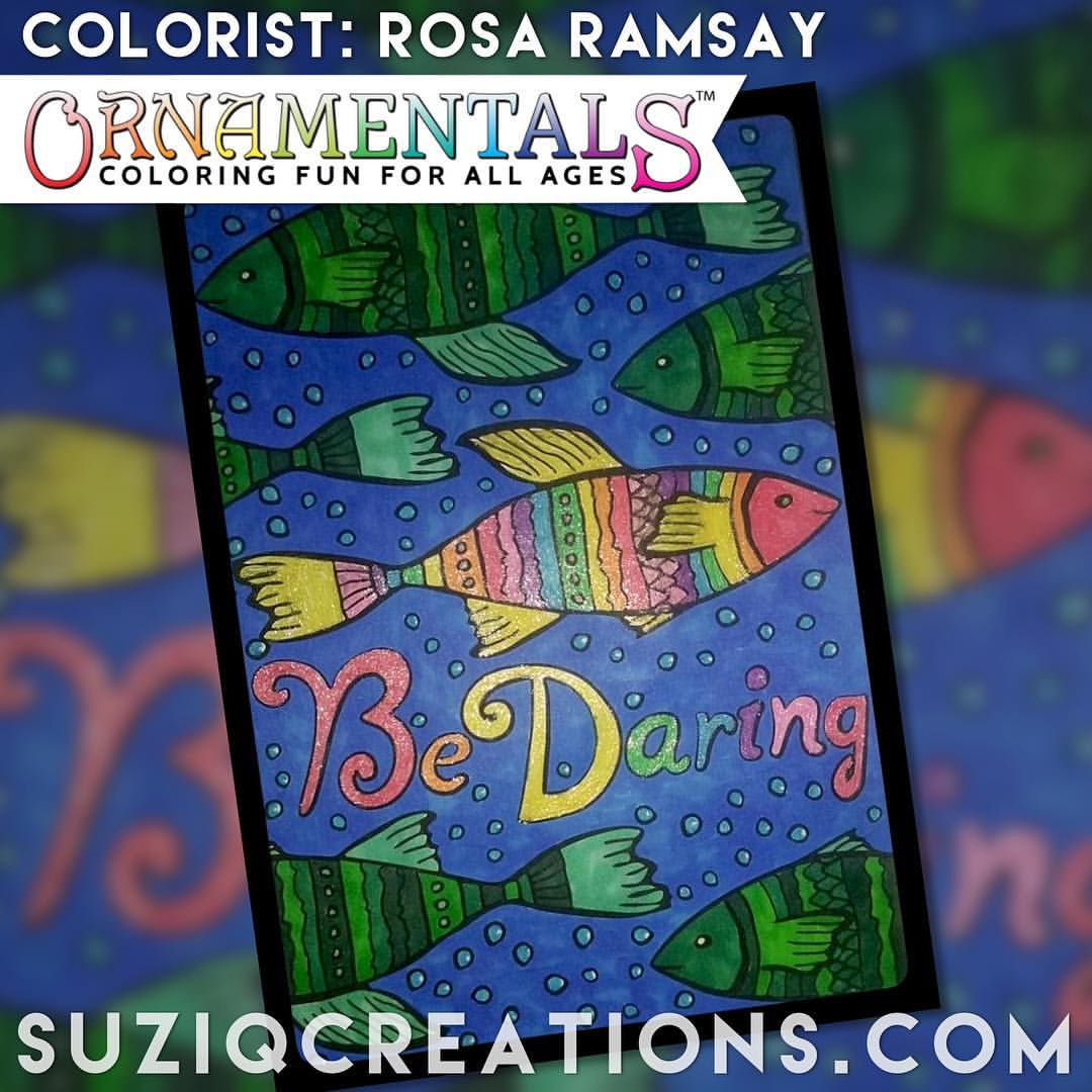 Be Daring colored by Rosa Ramsay