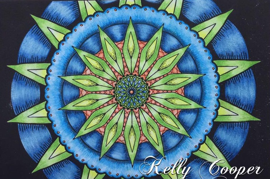 From OrnaMENTALs Lights Out, colored by Kelly Cooper.