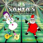 Santa's Coloring Disco Party