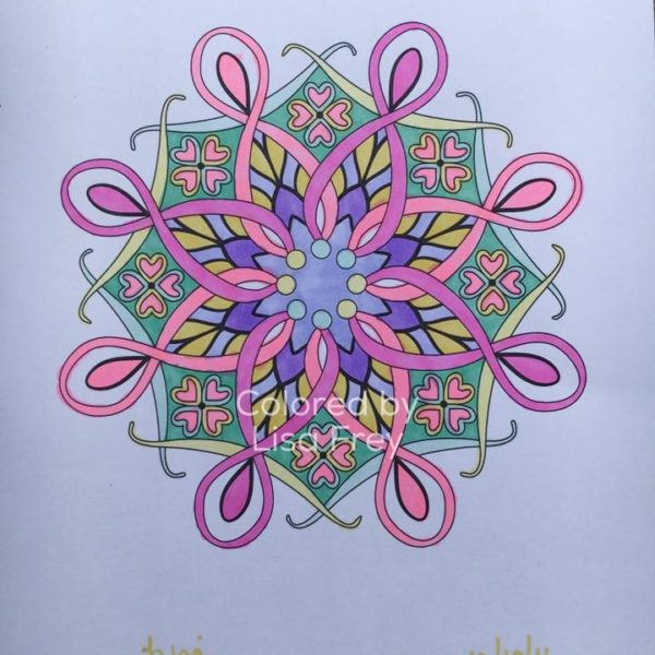 A Common Goal Colored by Lisa Frey