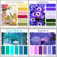 Dive Into Spring - 4 Color Schemes
