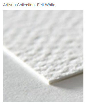 Zazzle's Artisan Felt White Paper
