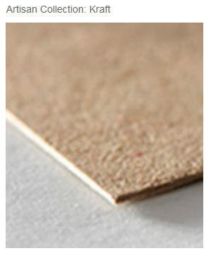 Zazzle's Artisan Kraft Paper