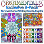 3-pack OrnaMENTALs Sampler