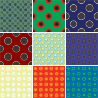 30 circle design patterns sample
