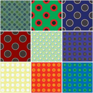 30 circle design patterns sample