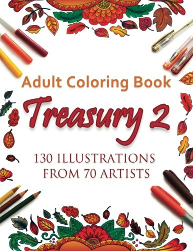 Adult Coloring Book Treasury 2