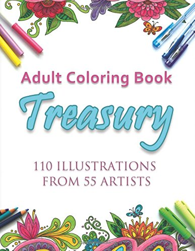 Adult Coloring Book Treasury: Volume One