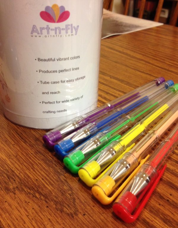 Art-­n-­Fly 40 Piece Gel Pen Set