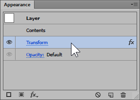 Appearance Panel in Illustrator