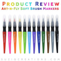 Product Review of Art-n-Fly Soft Brush Markers