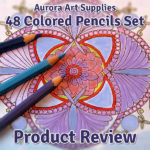 Aurora Art Supplies 48 Piece Colored Pencil Set Review