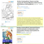 Two bad coloring books with identical descriptions.