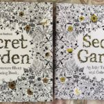Secret Garden fake coloring book.