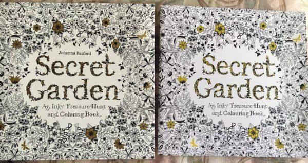 Secret Garden Fake Coloring Book