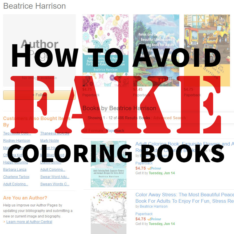 Avoiding Bad Coloring Books