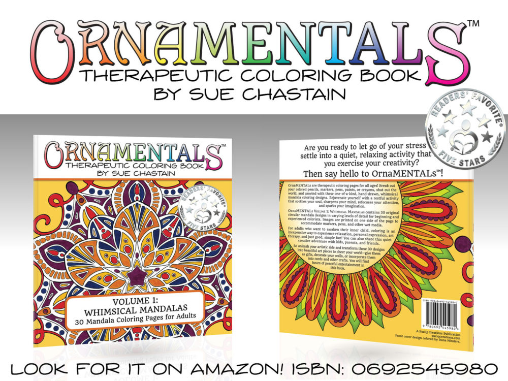 OrnaMENTALs™ Whimsical Mandalas (Volume 1)