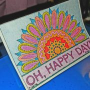 Oh Happy Day card from Feel Good Words to Go Digital Bundle
