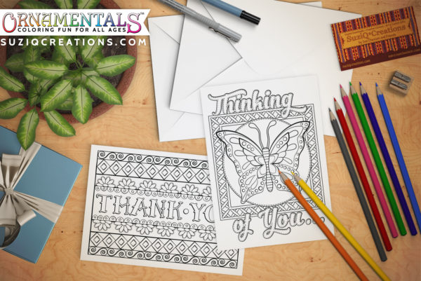 OrnaMENTALs Feel Good Greeting Cards Scene