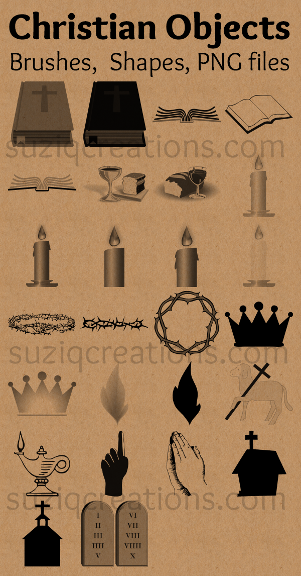 Christian Object Symbols Preview