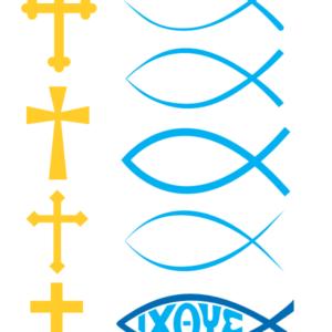 Christian Symbols Mega Pack Preview Page 1