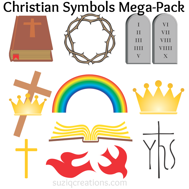 symbols of christian art in the Early christian art and architecture the winged man, the winged lion, the winged ox, and the eagle became in christian art symbols for the four evangelists.