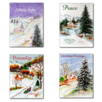 Christmas Card Collection from JC Prida Art