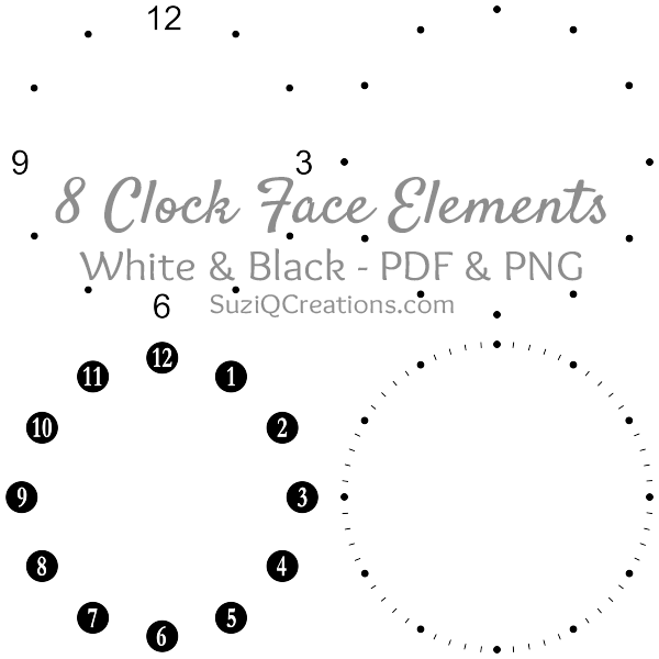 Clock Face Elements Thumbnail