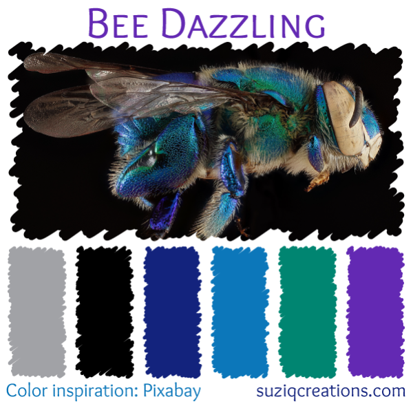 Bee Dazzling Color Palette