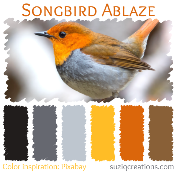 Songbird Ablaze Color Palette
