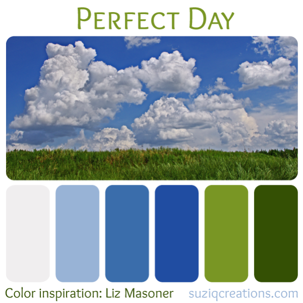 Perfect Day - Color Inspiration from Nature