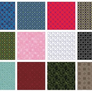 12 Square Design Patterns Sample