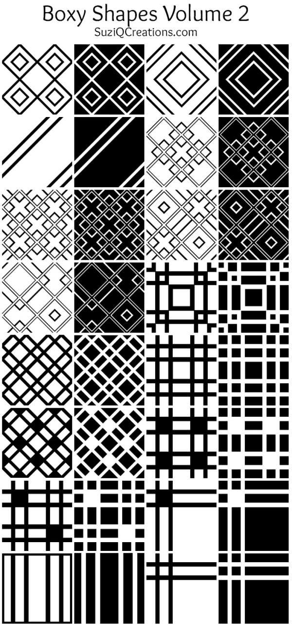 Boxy Shapes Volume 2 Preview