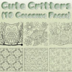 Cute Critters Coloring Page Bundle Thumbnail