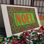 """Noel"" from Feel Good Words To-Go Digital Bundle colored by David Wilmoth"