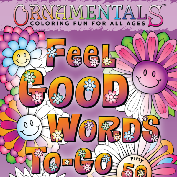 OrnaMENTALs Feel Good Words To-Go Front Cover