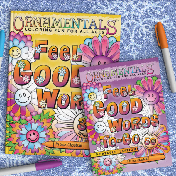 OrnaMENTALs Coloring Books