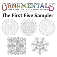 OrnaMENTALs First Five Designs PDF Bundle