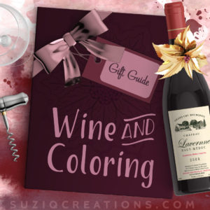 Coloring Gift Ideas for Wine Enthusiasts