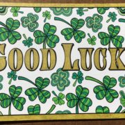"""""""Good Luck"""" colored by Lisa Frey"""