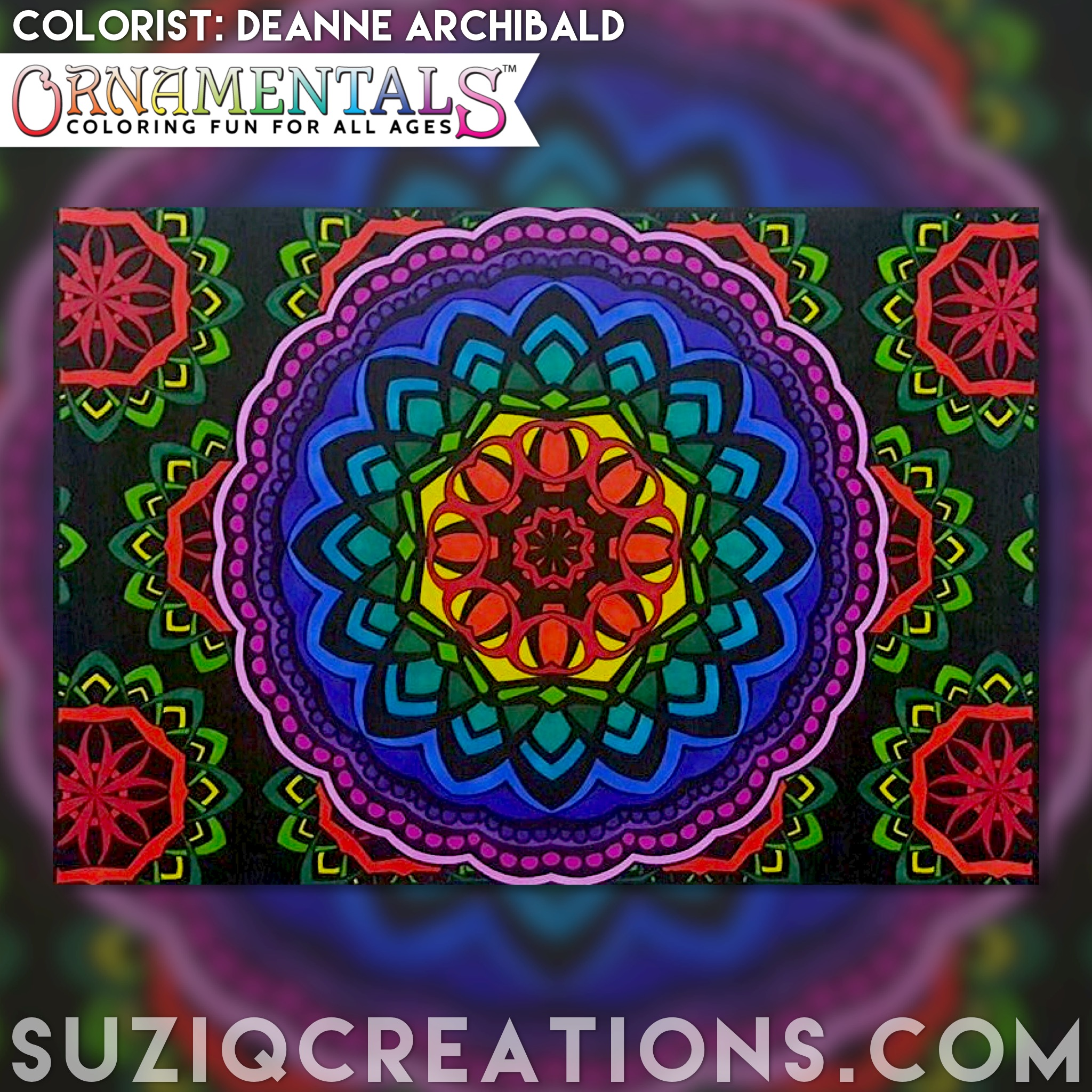 "From <i><a href=""http://www.suziqcreations.com/loa/"">OrnaMENTALs Lights Out</a></i> - colorist Deanne Archibald."