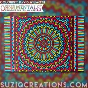OrnaMENTALs Lights Out Coloring Book