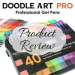 Doodle Art Pro 40 Glitter Gel Pens Review