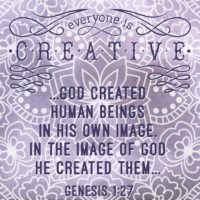 God Created Us In His Image