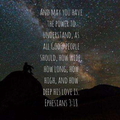 The Depth of God's Love