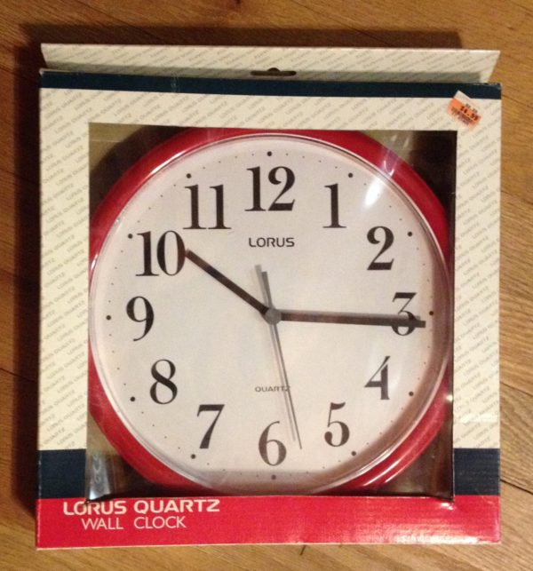 Inexpensive Wall Clock