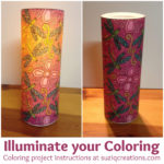 Illuminate your Coloring - Create a night light from your coloring pages!