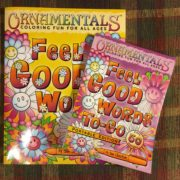 OrnaMENTALs™ Feel Good Words and the portable edition--Feel Good Words To-Go!